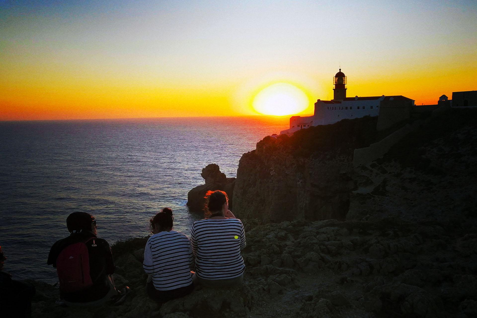 Cape Saint Vincent at Sunset